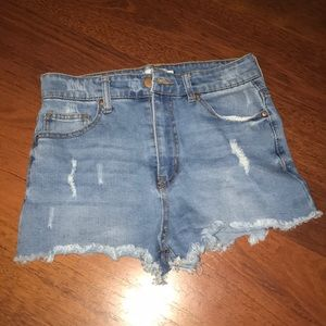 High Rise Forever 21 shorts!